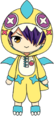 Shinobu Sengoku Strawberry Monster Chibi