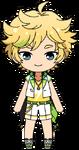 Sora Harukawa Switch Uniform chibi