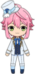 Tori Himemiya Fine Uniform Chibi