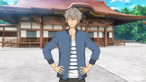 Koga Oogami Casual Clothes (Spring + Last Year's Appearance) Outfit