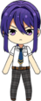 Souma Kanzaki Summer Uniform chibi