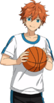 (Basketball Guidance) Subaru Akehoshi Full Render