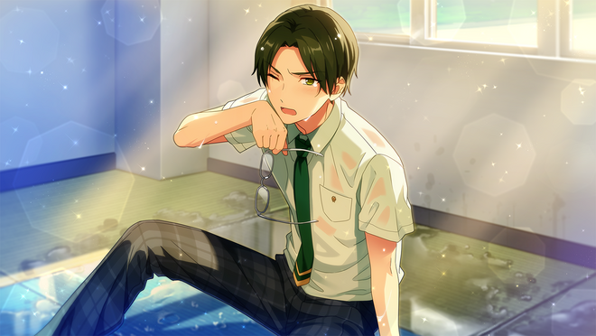 (Healing Bonds of Fate) Keito Hasumi CG