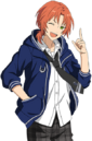 (Outer Space Aspiration) Leo Tsukinaga Full Render Bloomed