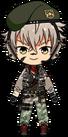 Koga Oogami Military Outfit chibi