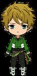 Midori Takamine RYUSEITAI uniform chibi