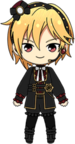 Nazuna Nito Valkyrie (Included) chibi