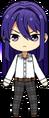 Souma Kanzaki Student Uniform Shirt (Hair Down) chibi