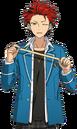 (Costume Artisan) Kuro Kiryu Full Render Bloomed
