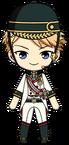 Arashi Narukami Cheval Live Outfit chibi