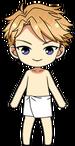 Arashi Narukami Hot Spring Towel chibi