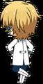 Kaoru Hakaze ES Idol Uniform chibi back