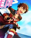 (Burning Shooting Star) Chiaki Morisawa Frameless Bloomed