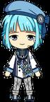 Hajime Shino Compensation Fes Outfit chibi