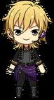 Kaoru Hakaze Rockin' Star chibi