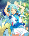 (Persevering) Hajime Shino Frameless Bloomed