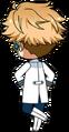 Arashi Narukami ES Idol Uniform chibi back