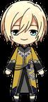 Eichi Tenshouin Black Tea Outfit chibi