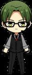 Keito Hasumi Agent chibi