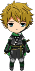Midori Takamine Scroll of the Elements chibi