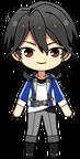 Rei Sakuma academy idol uniform chibi
