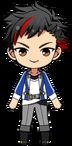 Tetora Nagumo academy idol uniform chibi