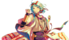 (Fireflies and Summer Night) Hajime Shino Full Render Bloomed