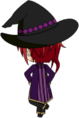 Natsume Sakasaki Blood Banquet Outfit chibi back