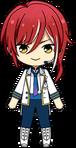Natsume Sakasaki ES Idol Uniform chibi