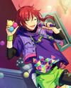 (Trick Sunshower) Natsume Sakasaki Frameless Bloomed