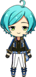 Kanata Shinkai ES RYUSEITAI Uniform chibi