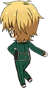 Kaoru Hakaze √AtoZ chibi back