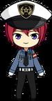 Tsukasa Suou Police chibi