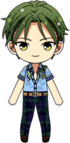 Keito Hasumi Libra Outfit chibi