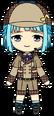 Hajime Shino Detective chibi