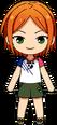 Hinata Aoi Casual (Summer) chibi