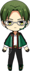Keito Hasumi Diner Live Outfit chibi