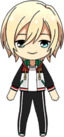 Eichi Tenshouin Diner Live Practice Outfit chibi