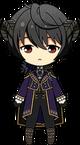 Ritsu Sakuma Devil Outfit chibi