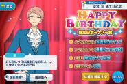 Shu Itsuki Birthday Campaign