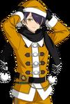 (Yellow Santa) Shinobu Sengoku Full Render
