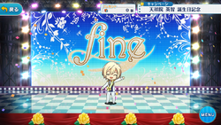 Eichi Tenshouin Birthday 2017 Stage