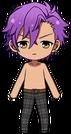 Adonis Otogari No Shirt chibi