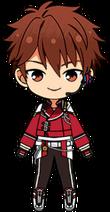 Chiaki Morisawa Ryuseitai Uniform (Past) chibi