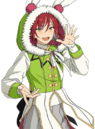 (Gimmick of a Rabbit) Natsume Sakasaki Full Render Bloomed