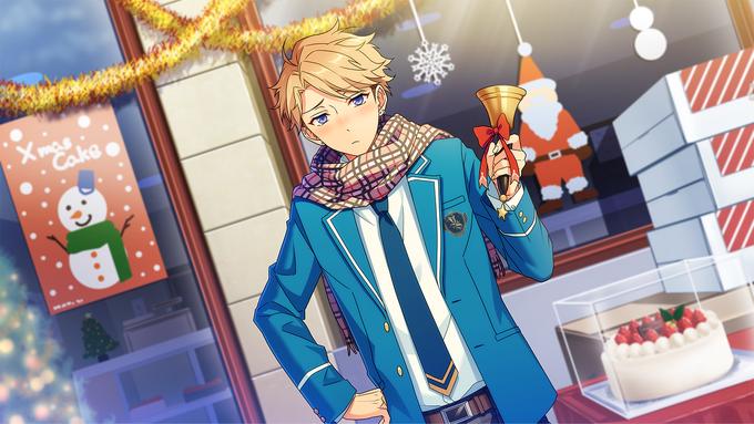 (Knight Santa) Arashi Narukami CG