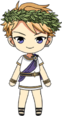 Arashi Narukami Greek Legends chibi