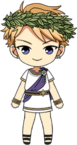 Arashi Narukami Greek Legends chibi