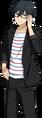 Hokuto Hidaka JINS Glasses