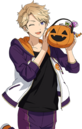(Trick or Treat) Arashi Narukami Full Render Bloomed